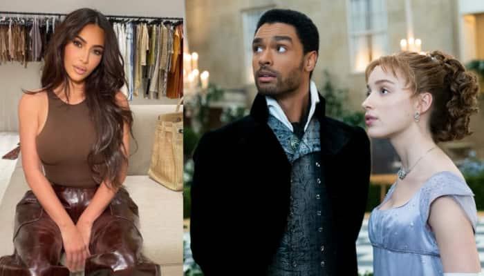 Kim Kardashian fangirls over Phoebe Dynevor, Rege-Jean Page while bingeing ''Bridgerton''