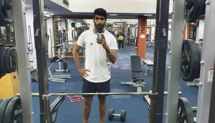 IPL 2021: Jasprit Bumrah joins MI camp after honeymoon with wife Sanjana Ganesan, watch video