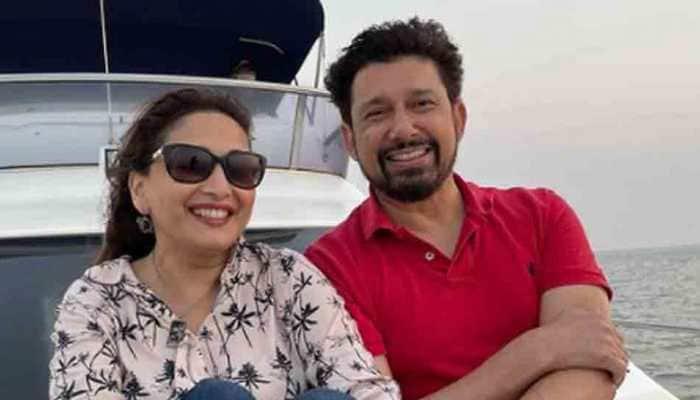 Madhuri Dixit and husband Shriram Nene's exotic vacation pictures from Maldives