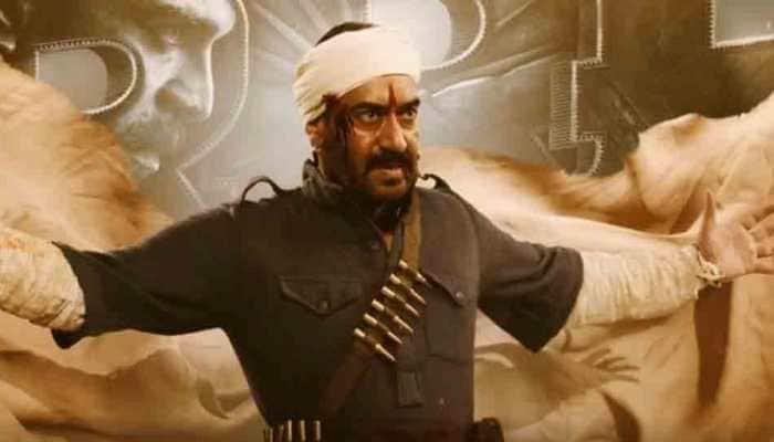 RRR: SS Rajamouli drops powerful revolutionary avatar of Ajay Devgn on his birthday