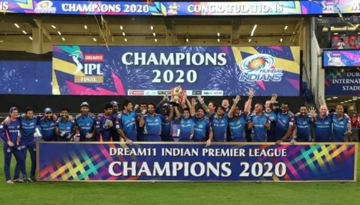 Mumba Indians win IPL 2020 trophy