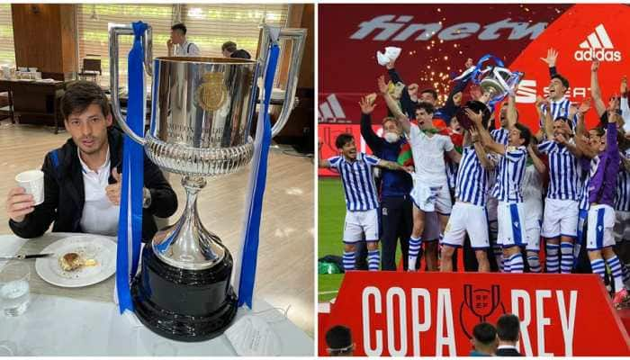 Copa del Rey 2020: David Silva adds first silverware to his cabinet with Real Sociedad
