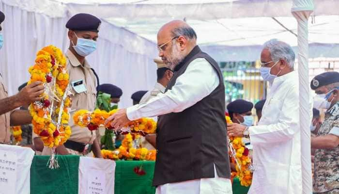Amit Shah visits Chhattisgarh