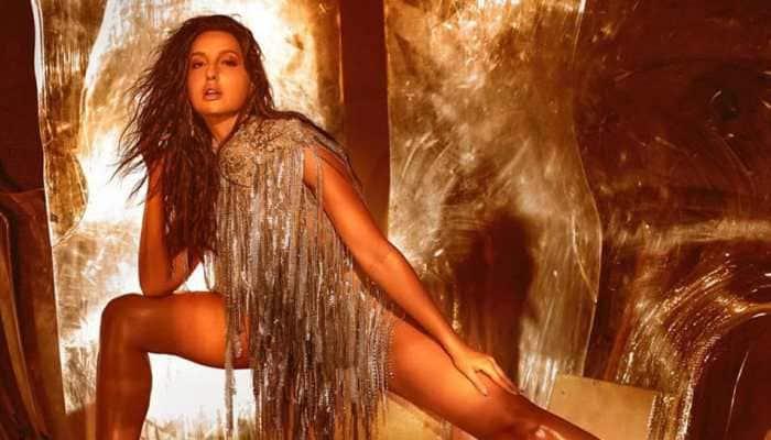 Nora Fatehi stuns in custom-made gown by international designer, joins league of Jennifer Lopez, Britney Spears, Paris Hilton!