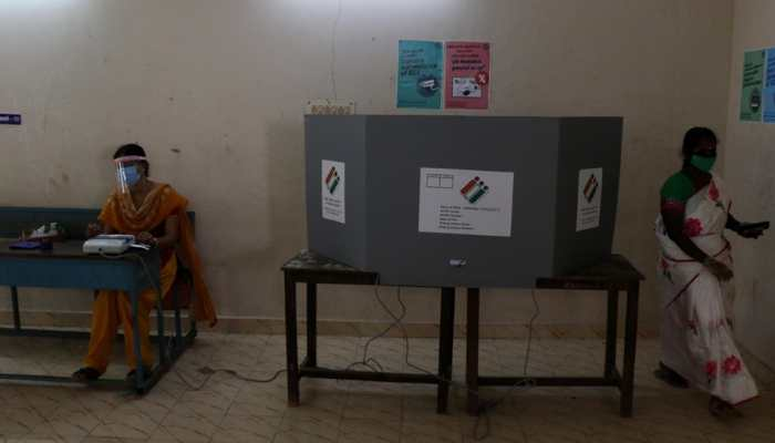 Tamil Nadu Assembly election: DMK MP Kanimozhi, other COVID-19 affected people vote wearing PPE kit