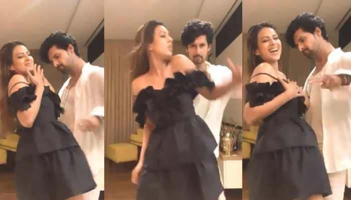 Jamai Raja couple Nia Sharma and Ravi Dubey's bold dance moves break internet, video goes viral - Watch