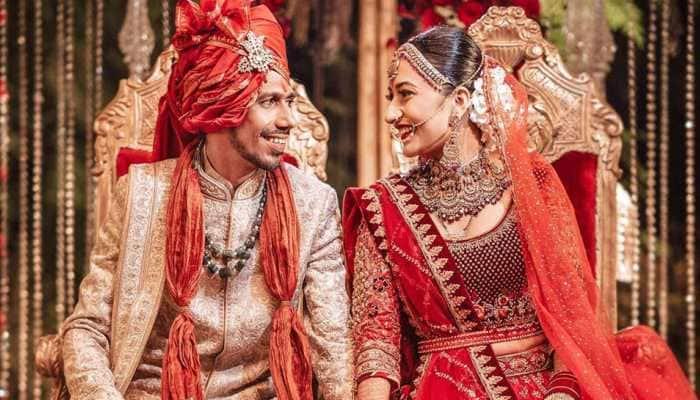 Cricketer Yuzvendra Chahal and YouTuber wife Dhanashree Verma's wedding video is trending high - Watch