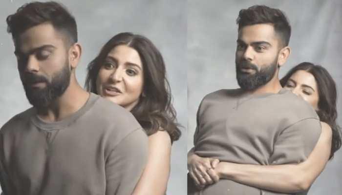 Anushka Sharma lifts hubby Virat Kohli in this BTS video, asks fans 'did I do it'?
