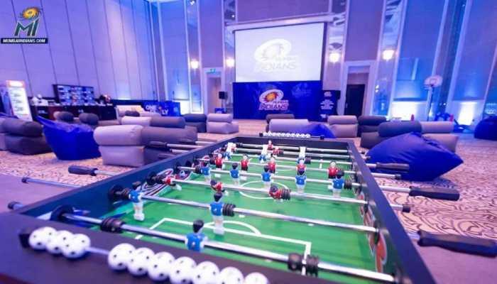 IPL 2021: MI's Suryakumar Yadav gives tour of team's 'magical' room - WATCH