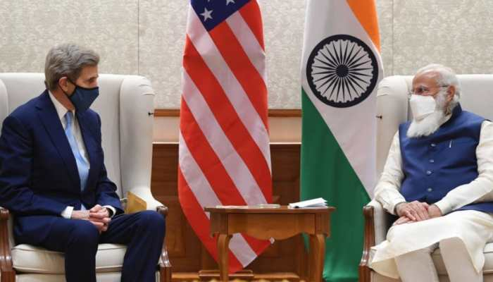 US envoy John Kerry calls on PM Narendra Modi, briefs about upcoming Leaders Summit on climate to be hosted by President Joe Biden