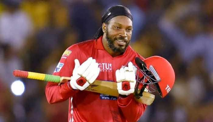IPL 2021: Watch Chris Gayle approve Sarfaraz Khan's Darren Sammy-mimicry