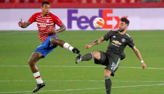 UEFA Europa League: Marcus Rashford and Bruno Fernandes give Manchester United one foot in semis