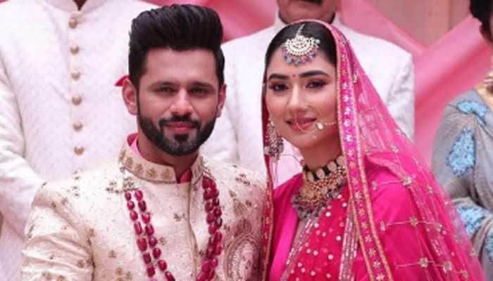 Rahul Vaidya and girlfriend Disha Parmar got married? Viral wedding pics and the truth behind it
