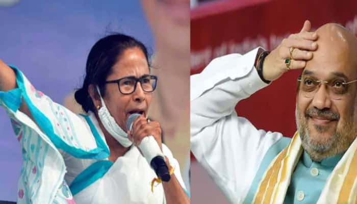 Amit Shah claims BJP is winning 63-68 seats in first 3 phases, Mamata alleges Shah trying to incite violence in Bengal