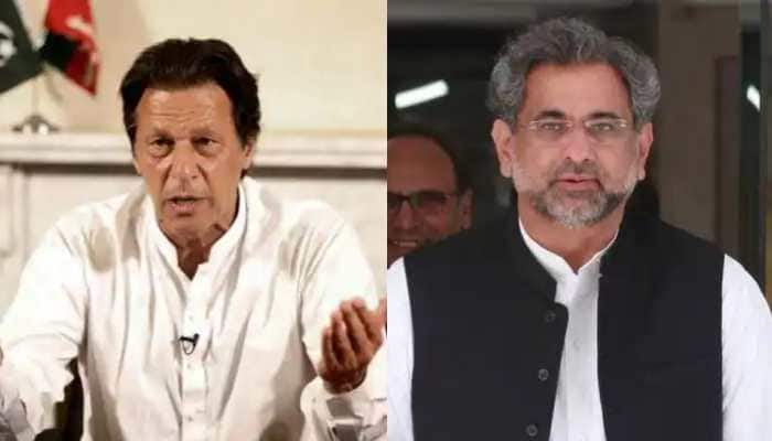 Imran Khan's govt surviving on mere seven votes, claims former Pakistan Prime Minister Shahid Khaqan Abbasi