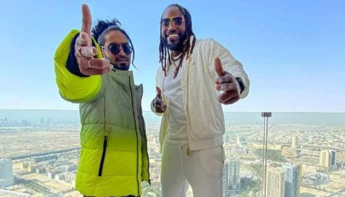 'Jamaica To India': Punjab Kings' Chris Gayle drops new song featuring Indian rapper Emiway Bantai - WATCH