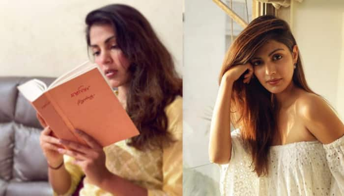Rhea Chakraborty's thoughtful post on 'keeping the faith' goes viral!