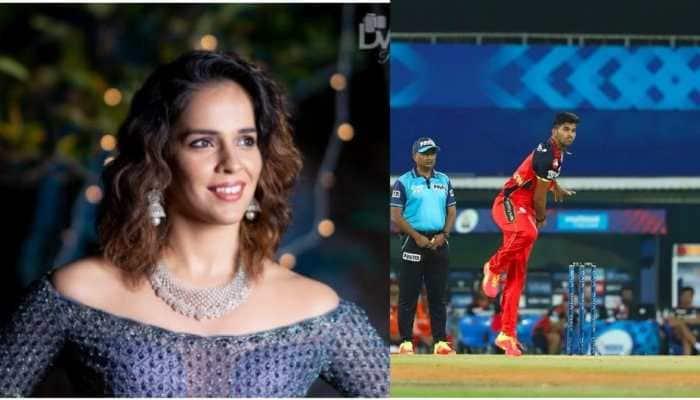 IPL 2021: Indian shuttler Saina Nehwal in awe of RCB's Washington Sundar, praises all-rounder on Twitter