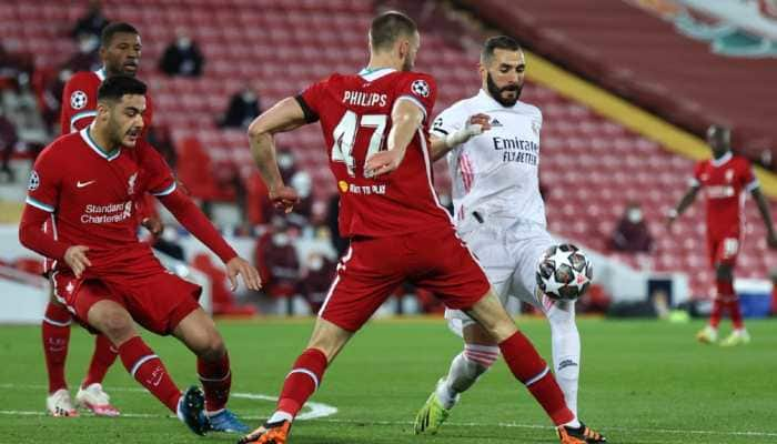 UEFA Champions League: Real Madrid frustrate Liverpool to enter last four