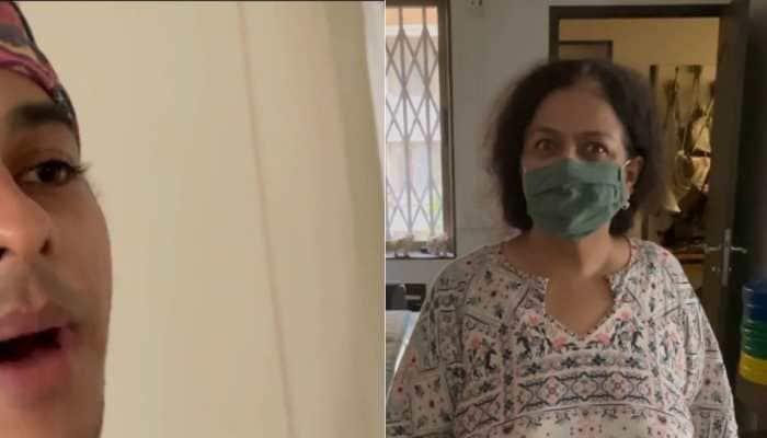 Ishaan Khatter shares hilarious video of mom Neliima Azeem throwing tantrums, Shahid Kapoor and Mira Rajput react
