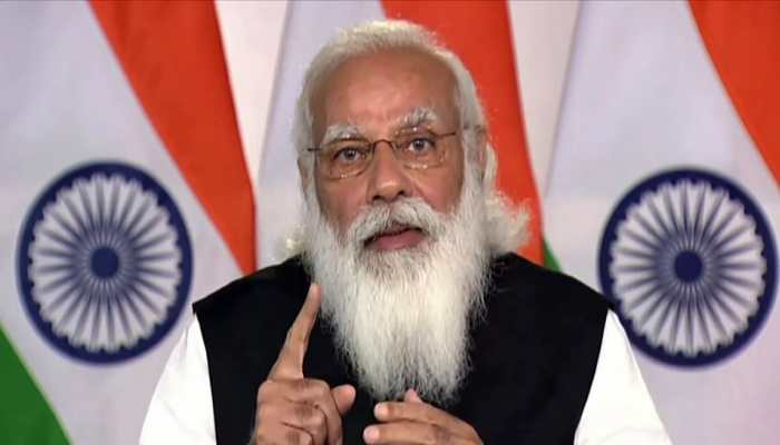 India doing its part, carbon footprint 60% lower than global average: PM Modi at Climate Summit 2021