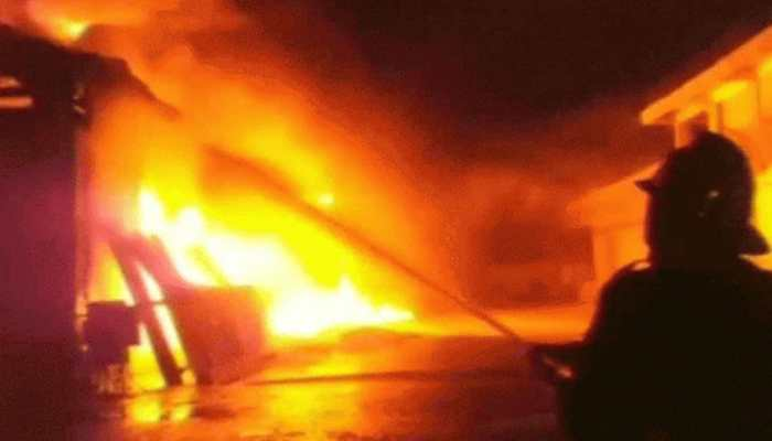 Massive fire reported at COVID-19 centre hospital in Maharashtra
