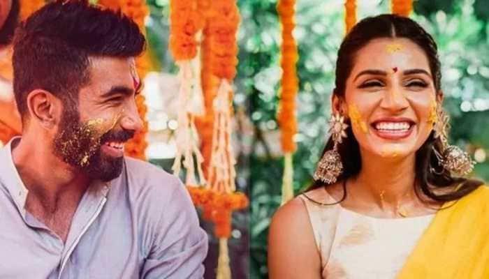 IPL 2021: With husband Jasprit Bumrah busy with Mumbai Indians, wife Sanjana Ganesan finds new match PARTNER - WATCH
