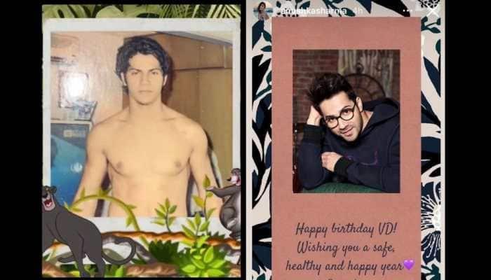 Arjun Kapoor, Anushka Sharma and other B-town celebs pour in birthday wishes as Varun Dhawan turns 34
