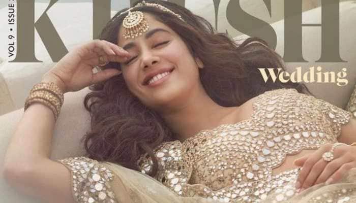 Janhvi Kapoor looks mesmerizing in new bridal magazine cover shoot - See pics