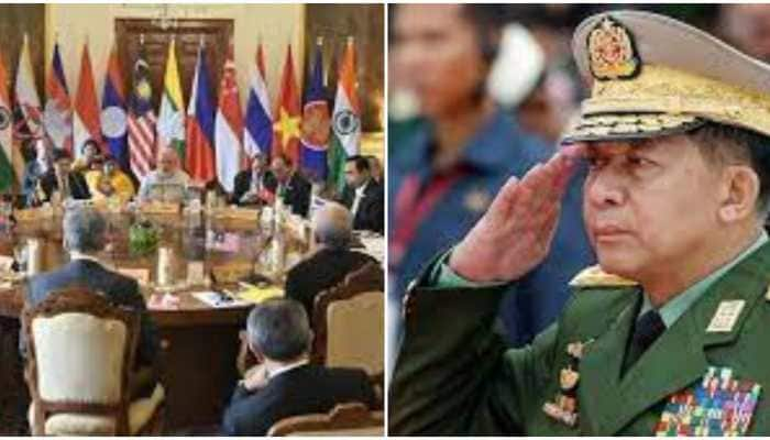 ASEAN urges Myanmar's military chief to cease violence