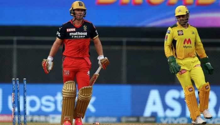 IPL 2021: Watch how 'mastermind' MS Dhoni plotted RCB's Glenn Maxwell & AB de Villiers dismissal