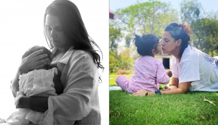 Neha Dhupia urges to 'normalize breastfeeding', says let's 'not sexualise it'