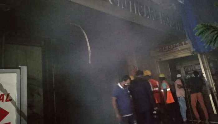 Massive fire breaks out at Thane hospital, 4 killed, several others evacuated