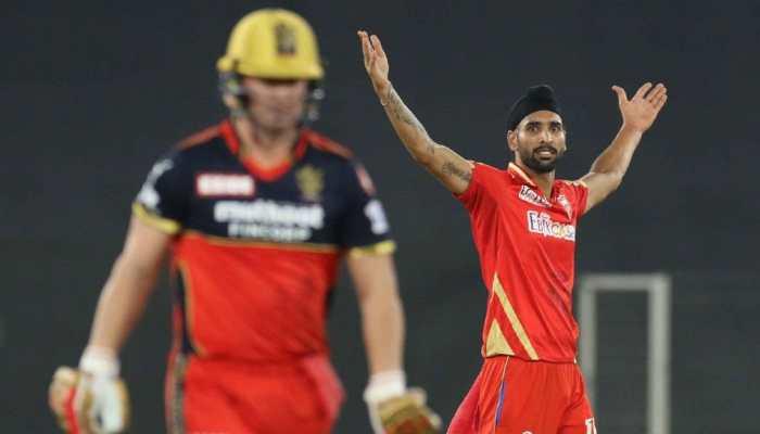 IPL 2021 PBKS vs RCB: 'Punjabis make their presence felt' - Harpreet Brar after dismissing Kohli, Maxwell and de Villiers