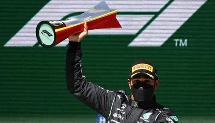 Portuguese GP: Lewis Hamilton stretches Formula 1 lead with victory in Portugal