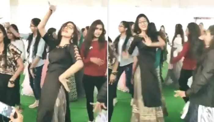 Trending: Girl dances on Haryanvi song 52 Gaj Ka Daman, video goes viral on internet - Watch