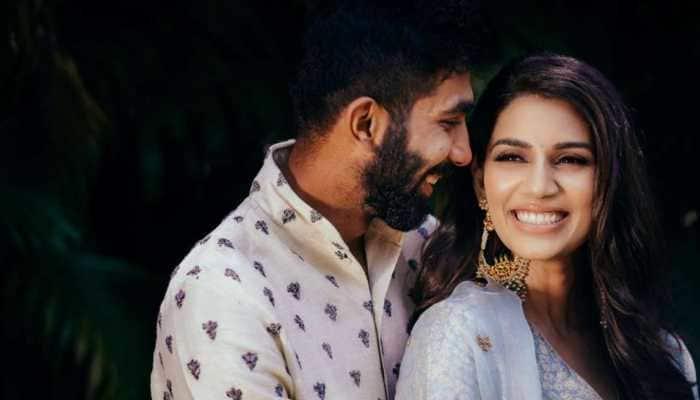 Sanjana Ganesan reunites with husband Jasprit Bumrah post honeymoon, shares 'loved up' pic