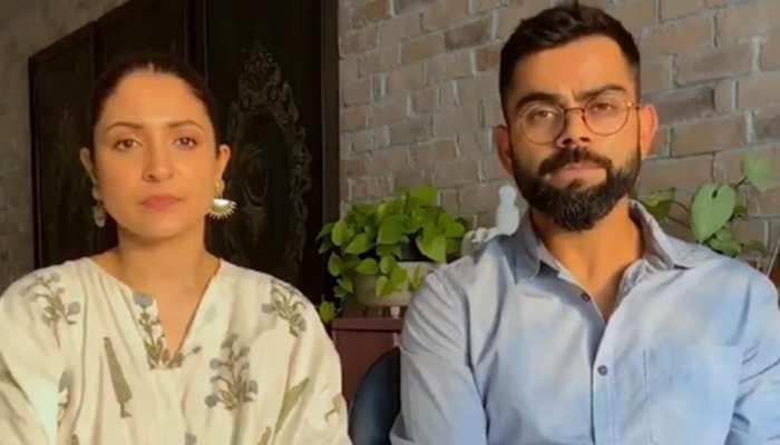 Virat Kohli and Anushka Sharma start fundraiser for COVID-19 relief - WATCH