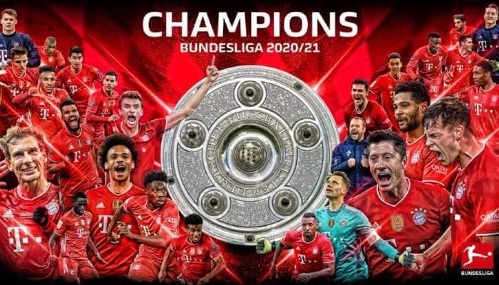 Bayern Munich win record-extending 9th straight Bundesliga title