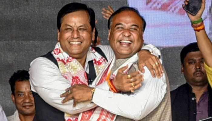 Suspense over Assam CM ends, Himanta Biswa Sarma elected as leader of BJP legislature party