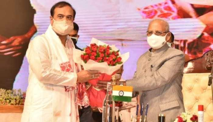 Himanta Biswa Sarma takes oath as Assam's 15th Chief Minister