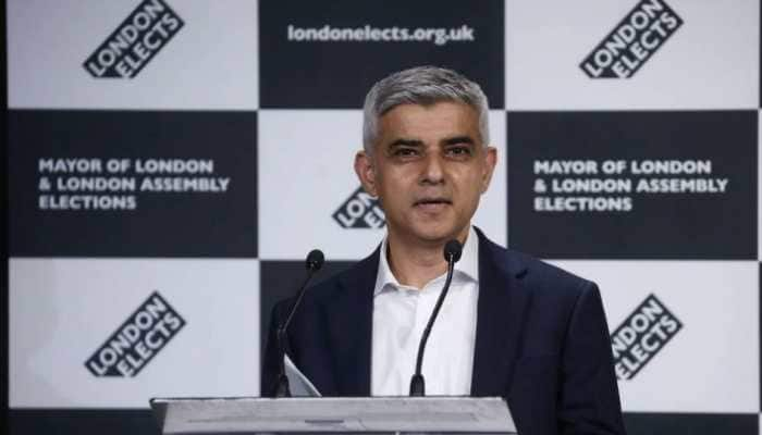 Labour Party's Sadiq Khan re-elected as London mayor