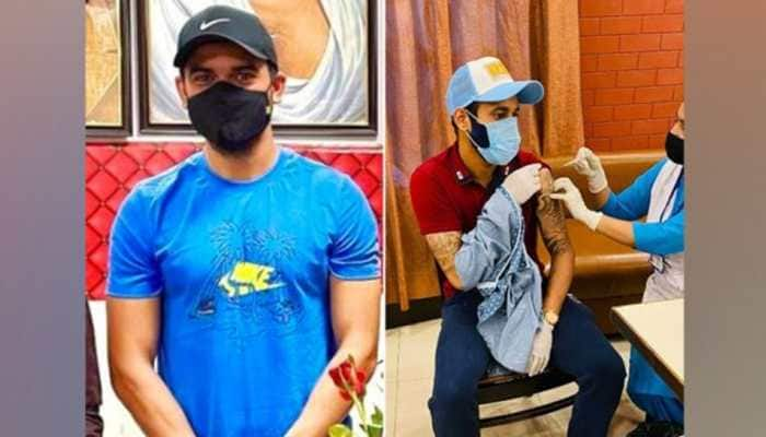 IPL 2021: CSK pacer Deepak Chahar, SRH fast bowler Siddharth Kaul receive first dose of COVID-19 vaccine