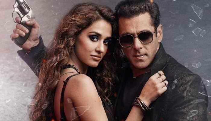 Salman Khan's quirky reply on kissing Disha Patani on-screen, says 'next time will use mota parda'!