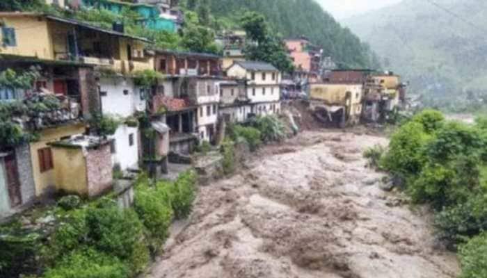 Cloudburst hits Uttarakhand's Devprayag, several shops and municipal buildings damaged
