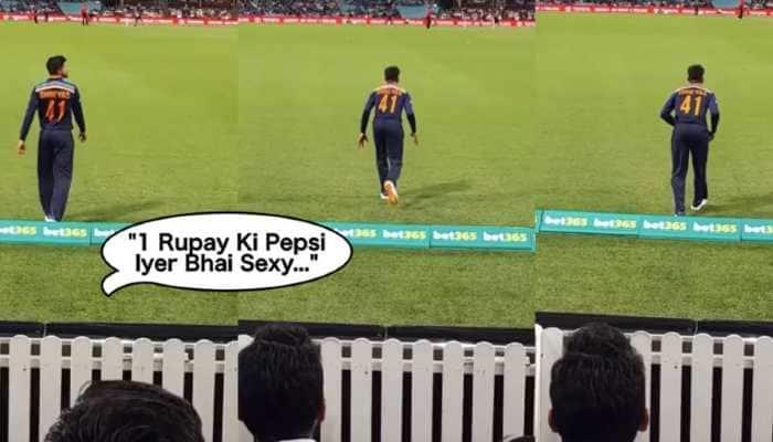 '1 rupee ki Pepsi Iyer Bhai sexy': Team India batsman Shreyas Iyer shares clip of his 'favorite' chant - WATCH