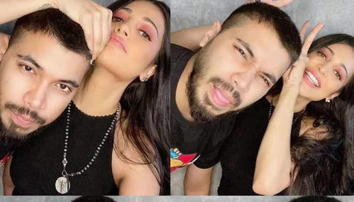 Shruti Haasan's romantic cosy pics with boyfriend Santanu Hazarika go viral!
