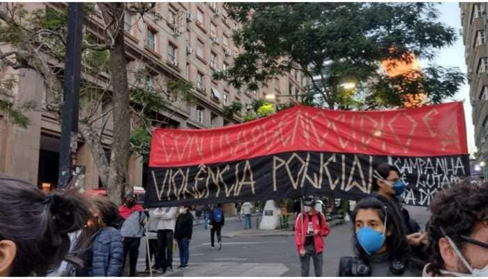 Black Brazilians protest against racism, police violence on National Day Against Racism