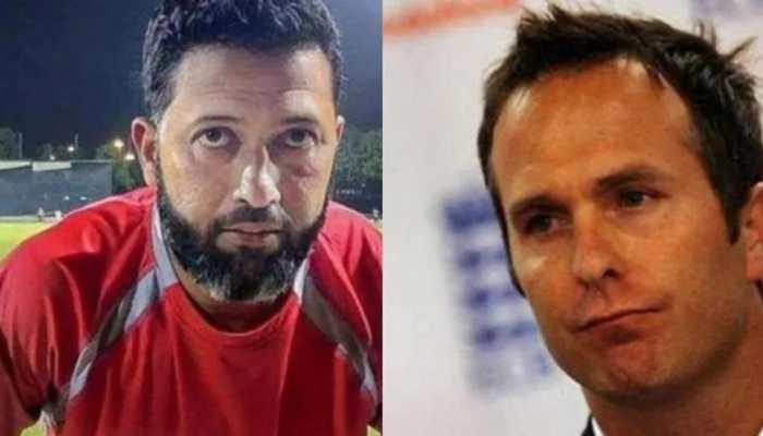 'Extra ungli Hrithik ke paas hai par karta Michael Vaughan hai': Wasim Jaffer trolls former ENG captain