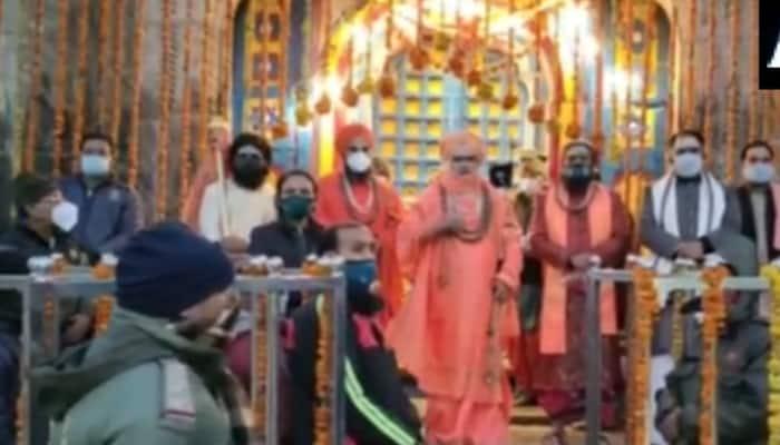 Portals of Kedarnath temple open today at 5 am, devotees get online 'darshan'
